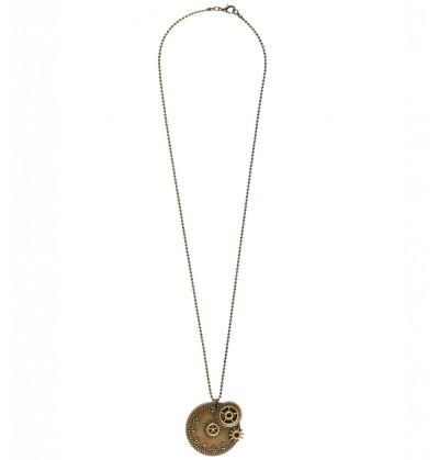collar de reloj steampunk