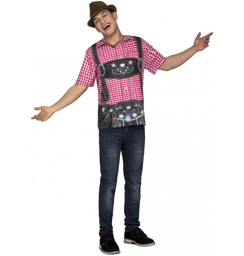 camiseta de tirols oktoberfest para hombre