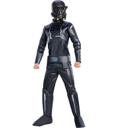 Disfraz de Death Trooper Star Wars Rogue One premium infantil