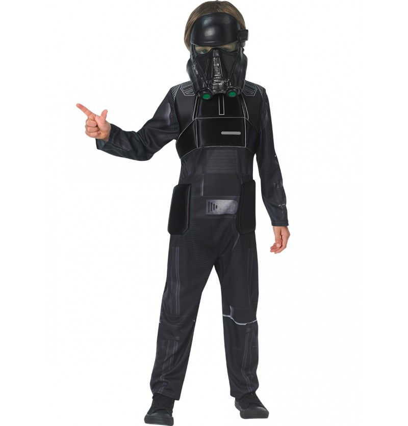 Disfraz de Death Trooper Star Wars Rogue One deluxe infantil