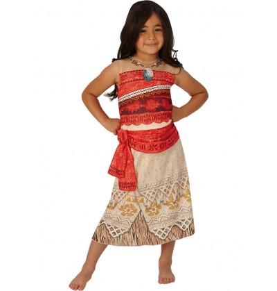 Disfraz de Vaiana classic para niña