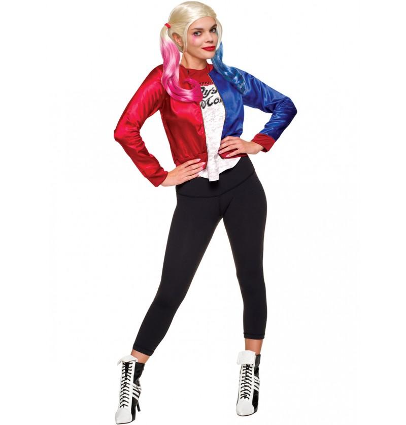 64dd40942 Kit disfraz de Harley Quinn Escuadrón Suicida para mujer