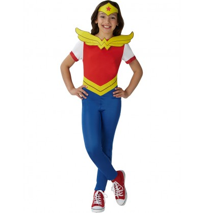 Disfraz de Wonder Woman comic para niña