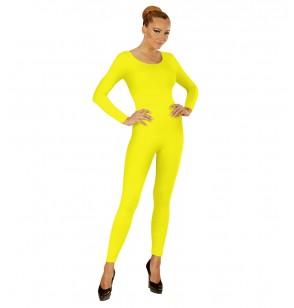 body amarillo fluorescente para mujer