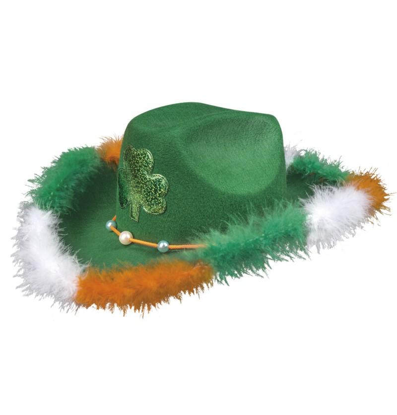 sombrero de cowboy irlands para adulto