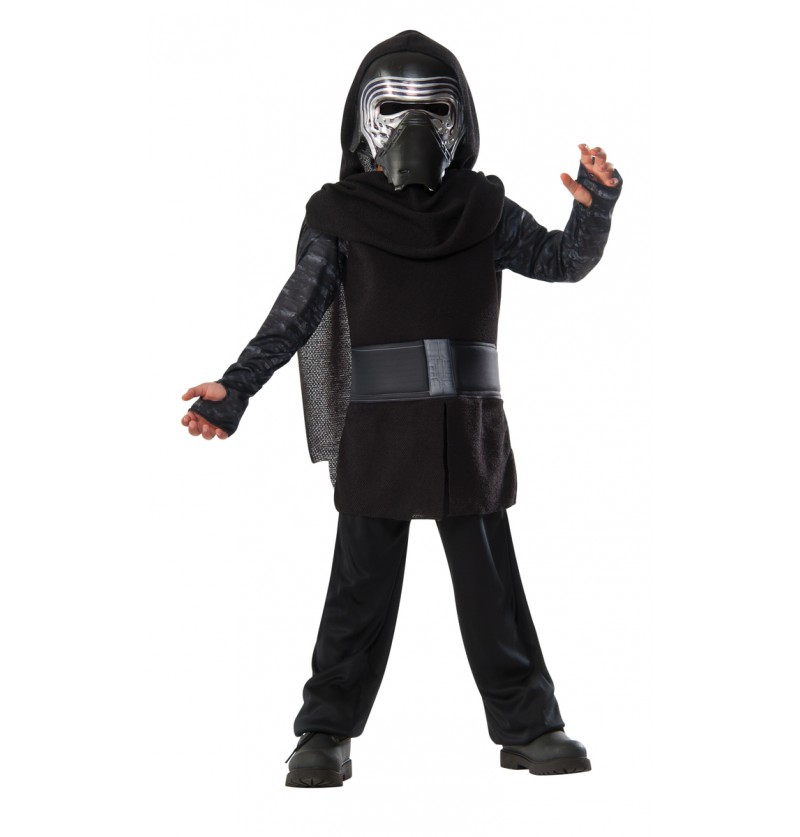 Kit disfraz de Kylo Ren musculoso para niño