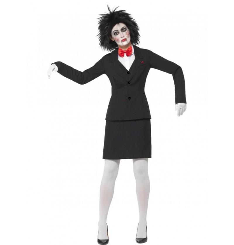 Disfraz de Jigsaw Saw para mujer