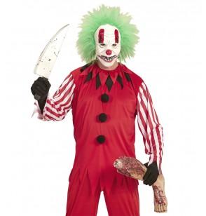 Kit disfraz de payaso macabro para hombre