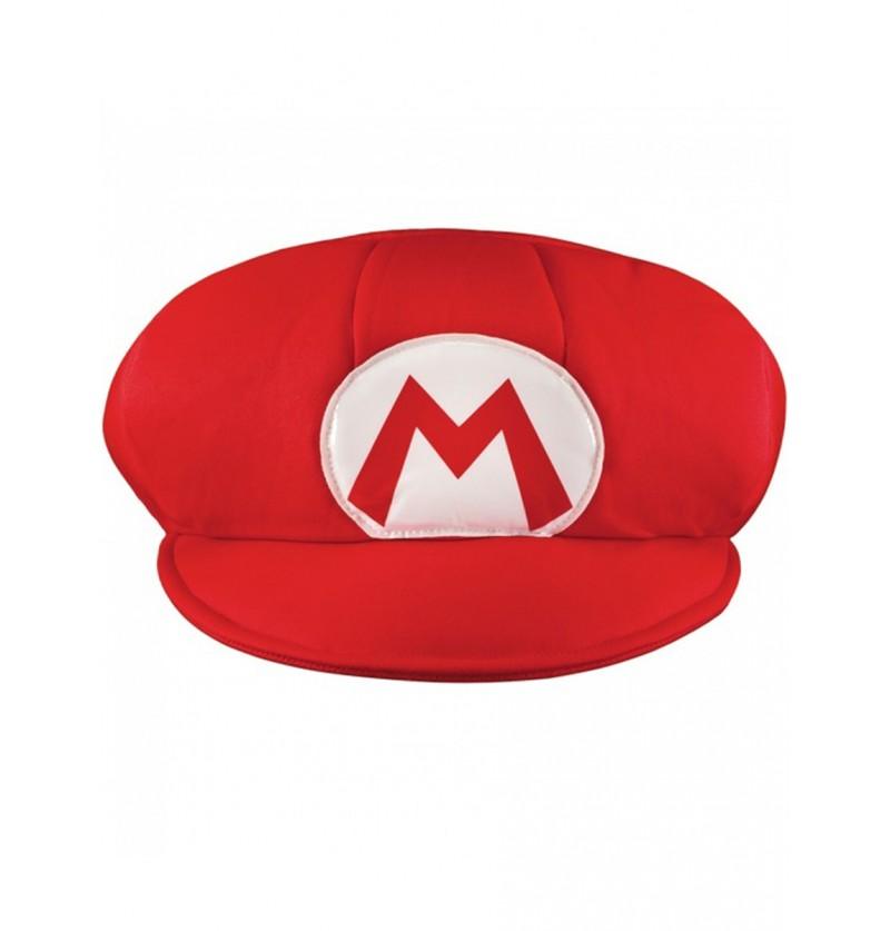 Gorro de Mario para adulto