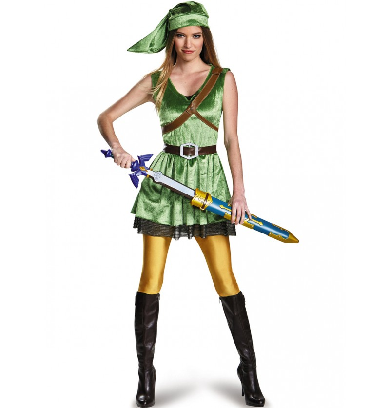 Disfraz de Link para mujer
