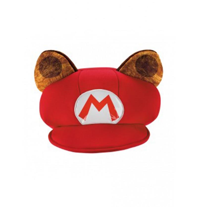 Gorro de Mario Racoon para niño