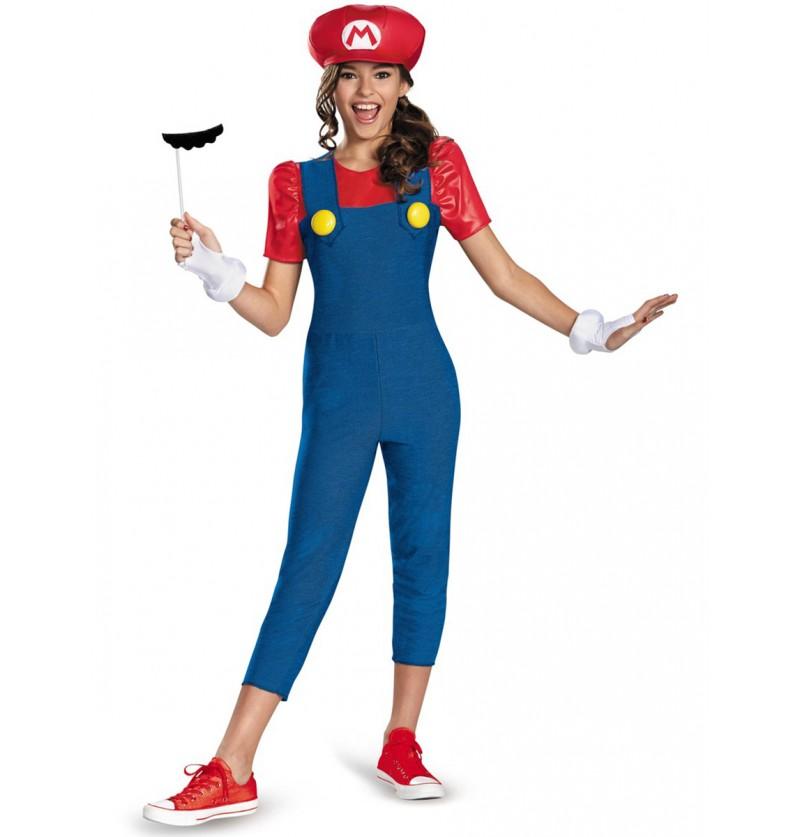 Disfraz de Mario Bros para adolescente
