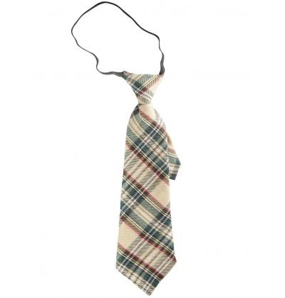Corbata de cuadros para adulto