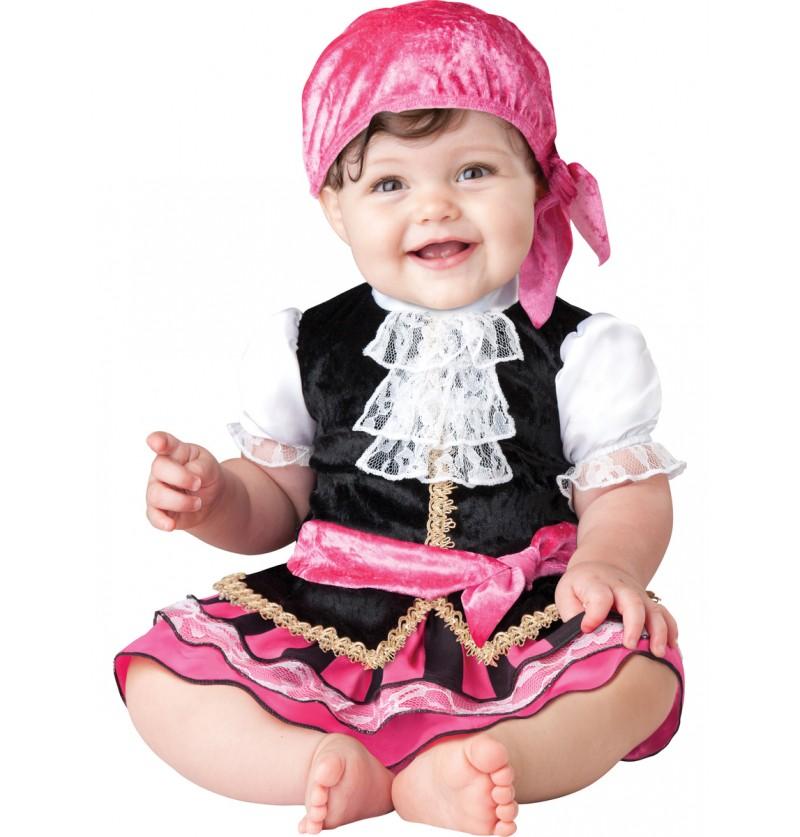 Disfraz de joya de los siete mares para bebé