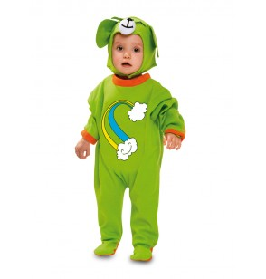 Disfraz de osito arcoiris para bebé