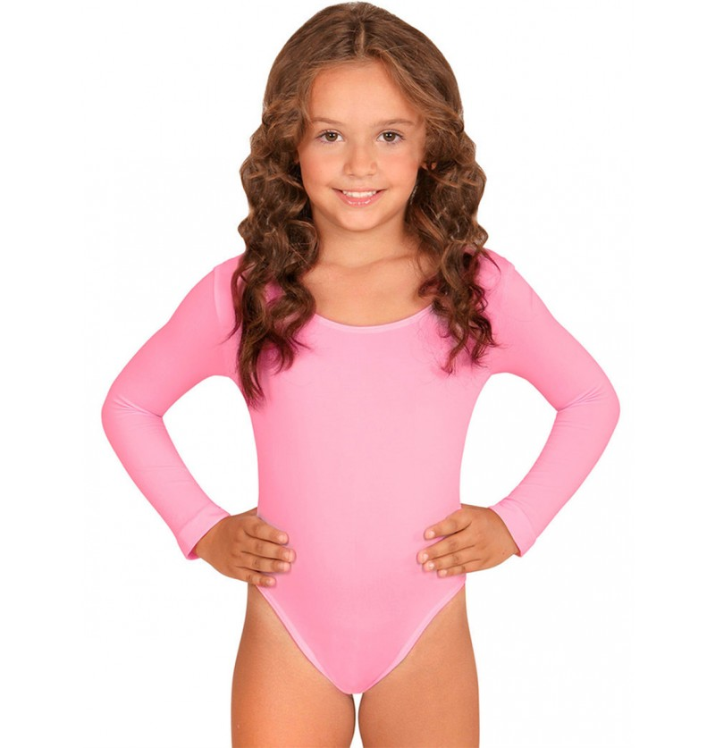 Body rosa palo para niña
