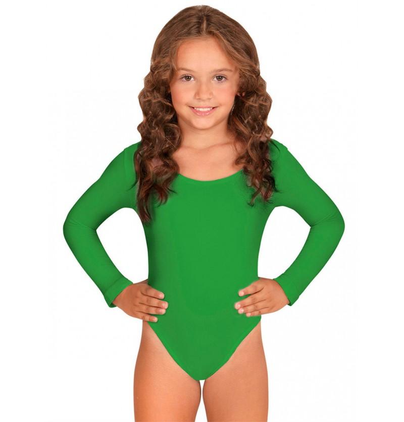Body verde para niña