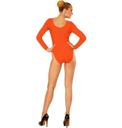Body naranja para mujer