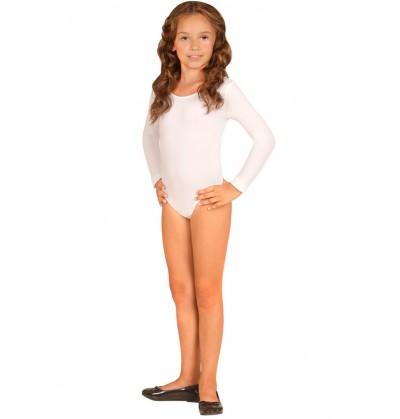 Body blanco para niña