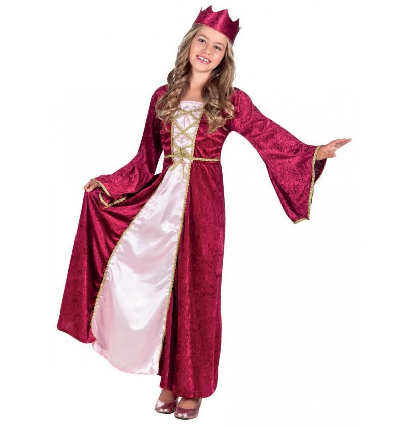 Disfraz de princesa del renacimiento para niña