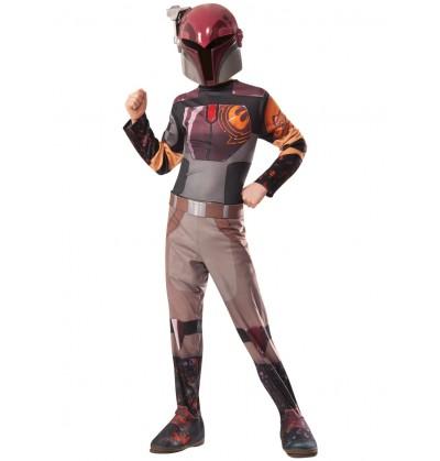 Disfraz de Sabine Wren Star Wars Rebels para niña