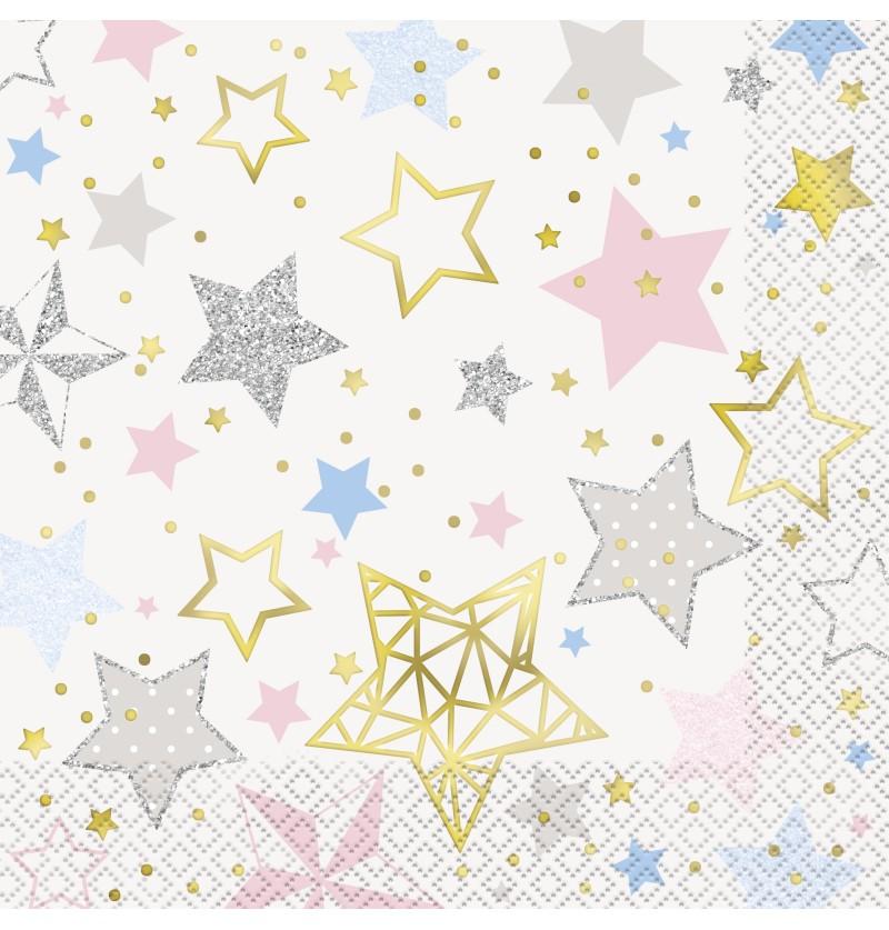 16 servilletas grandes twinkle little star