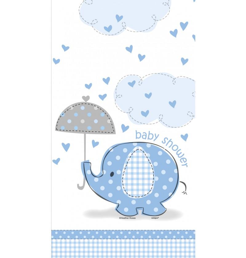 mantel azul umbrellaphants blue