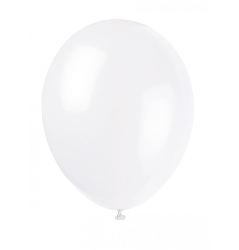 set de 10 globos color blanco lnea colores bsicos