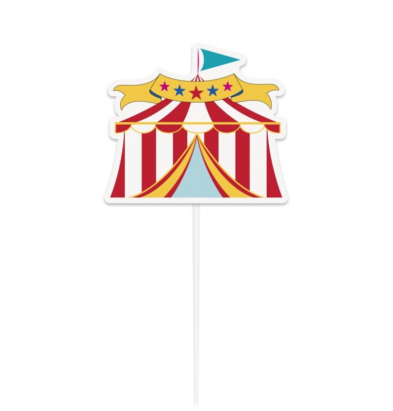 decoracin para tarta circus carnival