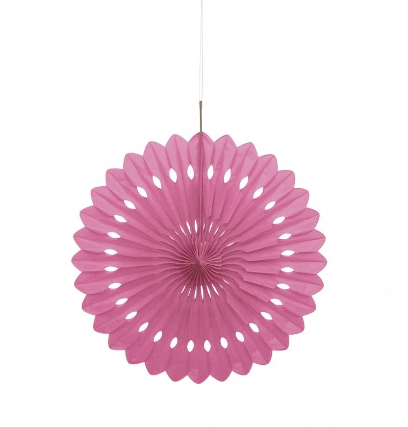 abanico decorativo color rosa lnea colores bsicos