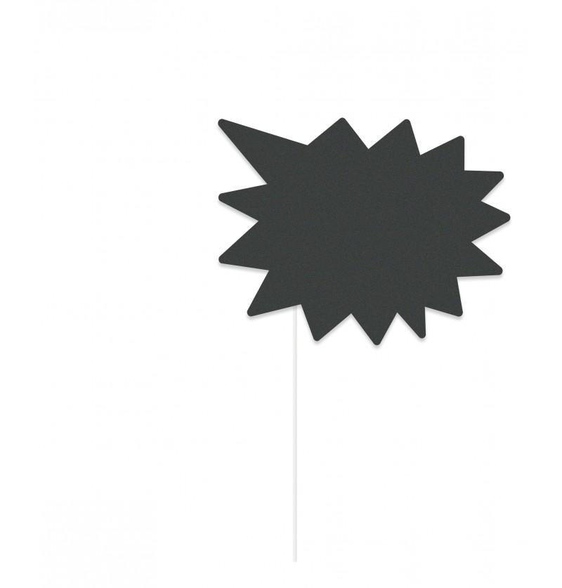 set de 10 complementos para photocall grafito