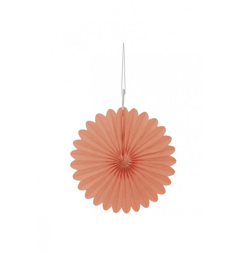 set de 3 abanicos decorativos coral lnea colores bsicos