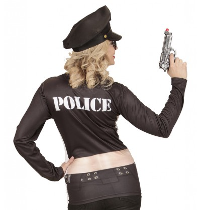 disfraz de polica stripper sexy para mujer