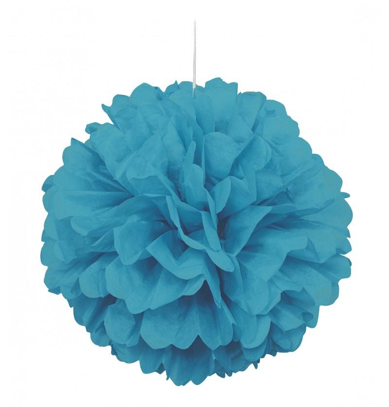 pom pom decorativo aguamarina lnea colores bsicos
