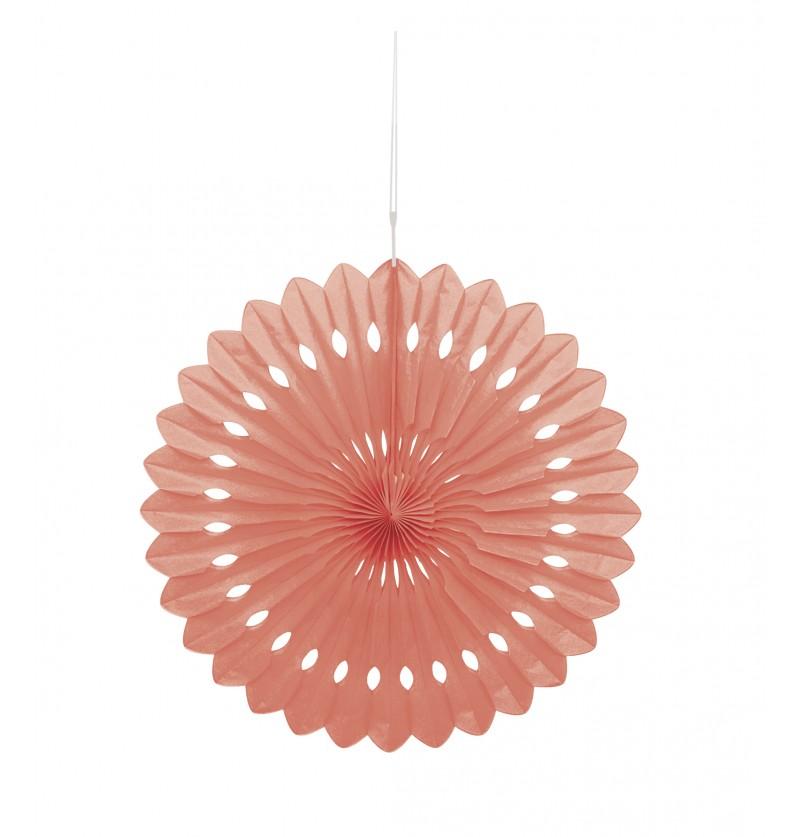 abanico decorativo coral lnea colores bsicos