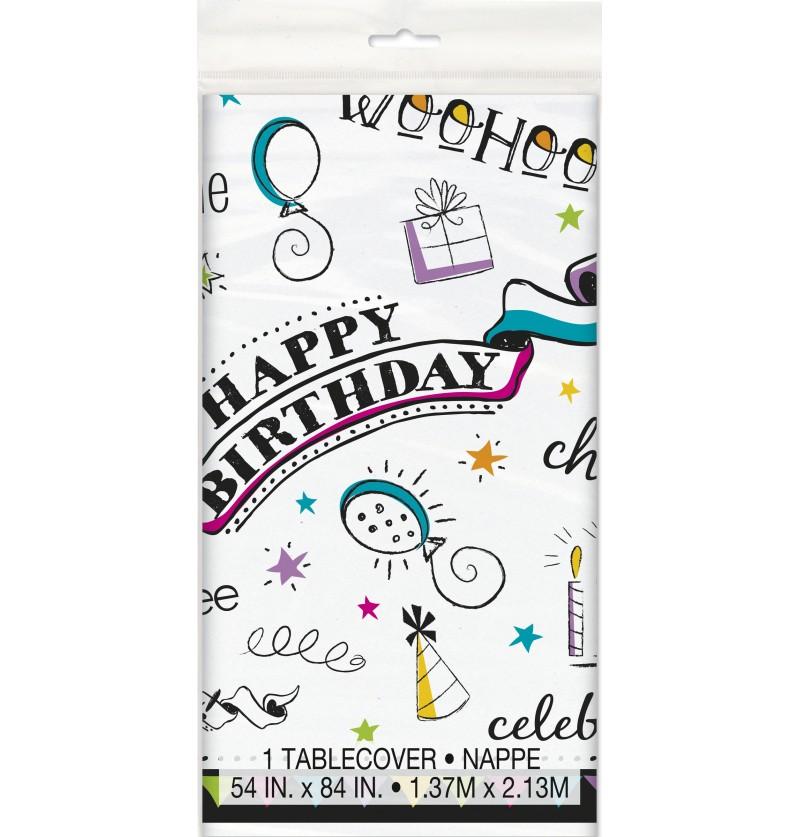 mantel doodle birthday