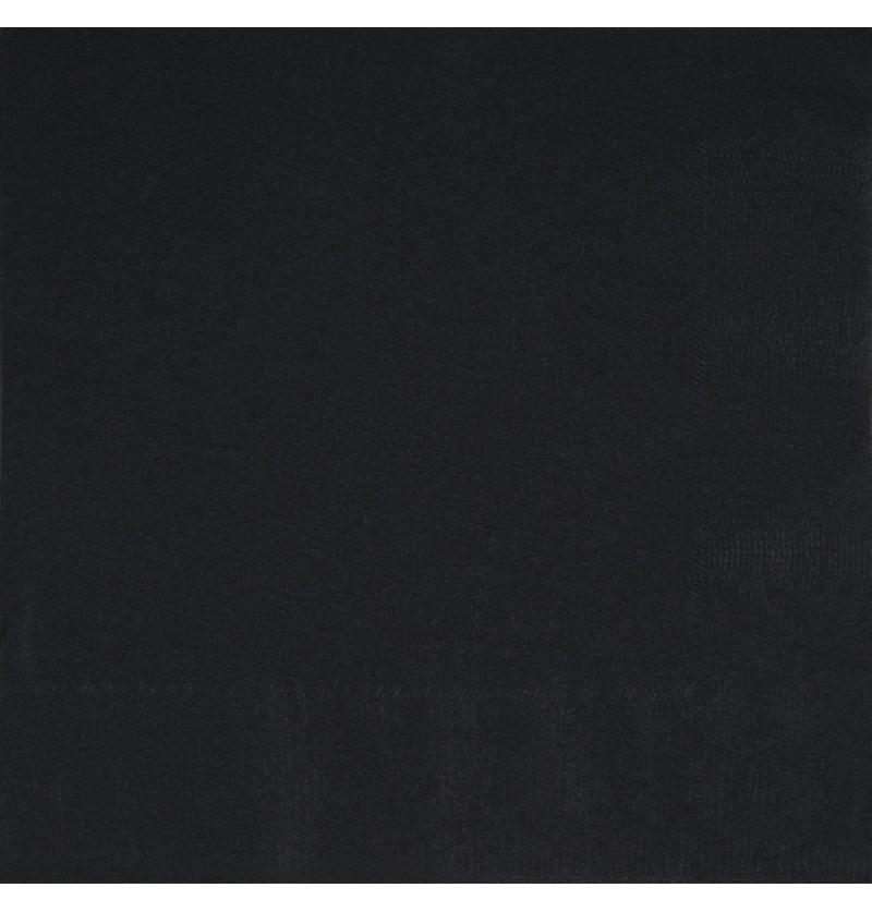 set de 50 servilletas grandes negras lnea colores bsicos