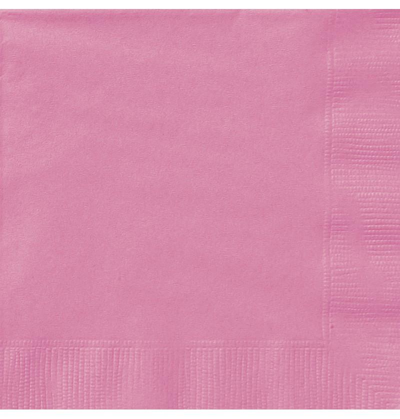 set de 20 servilletas grandes rosas lnea colores bsicos