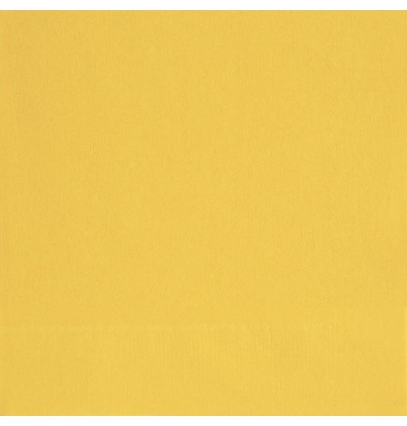 set de 20 servilletas grandes amarillas lnea colores bsicos