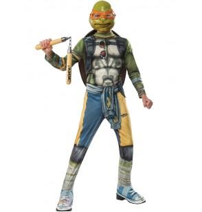 Disfraz de Michelangelo Tortugas Ninja 2 para niño