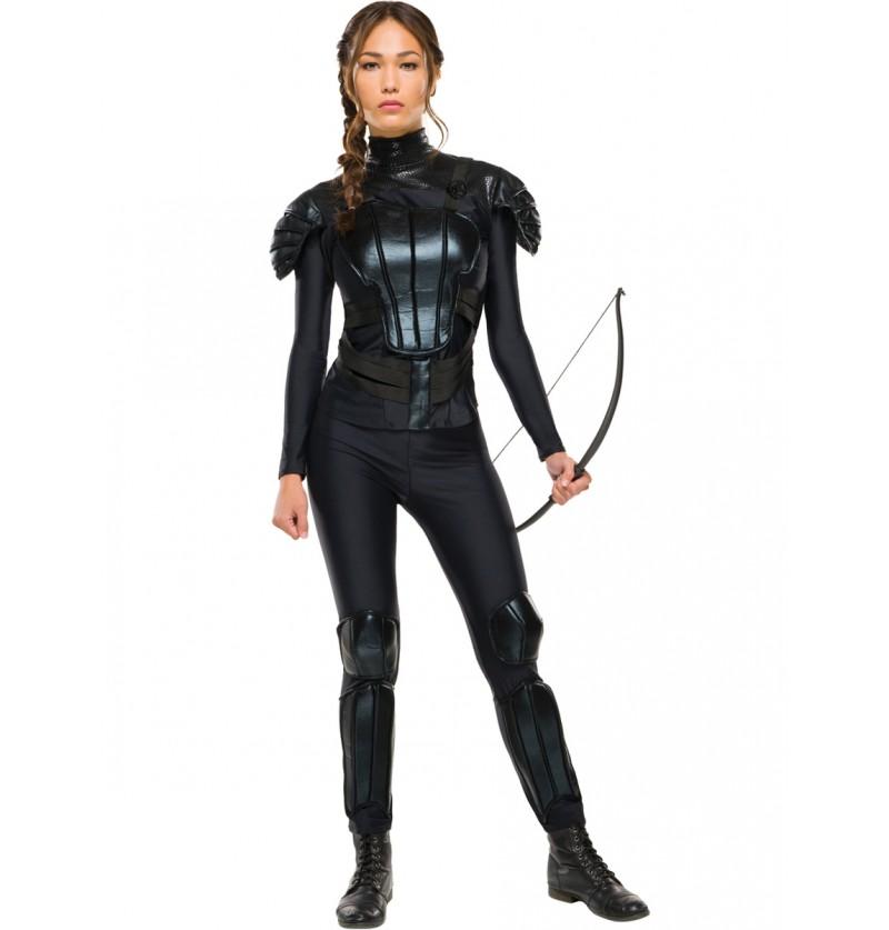 Disfraz de Katniss Everdeen Los Juegos del Hambre Sinsajo para mujer