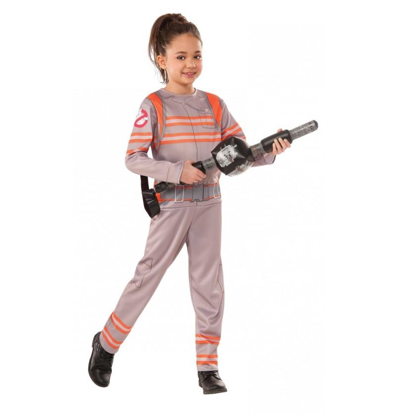 Disfraz de cazafantasmas Cazafantasmas 3 deluxe para niña