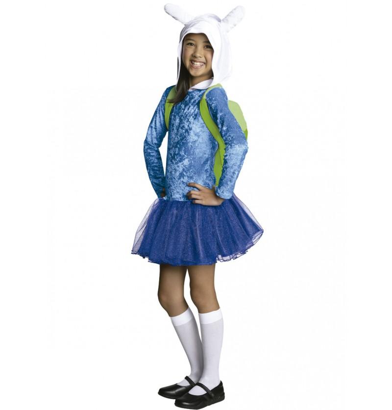 Disfraz de Fionna Hora de Aventuras para niña