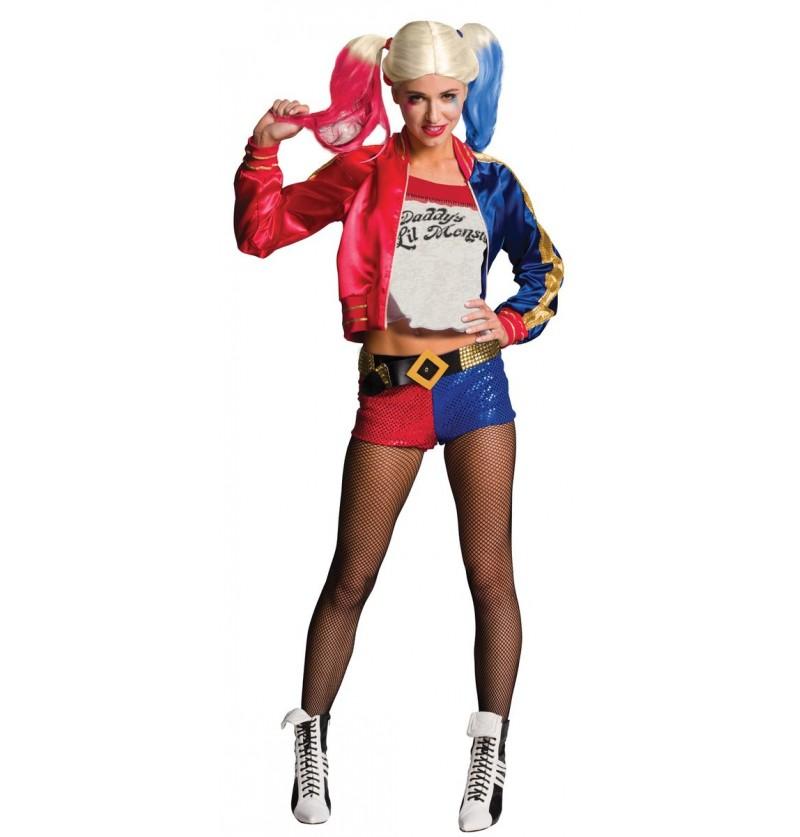 Disfraz de Harley Quinn Suicide Squad para mujer