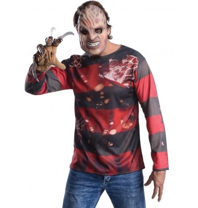 Kit disfraz Freddy Krueger para hombre