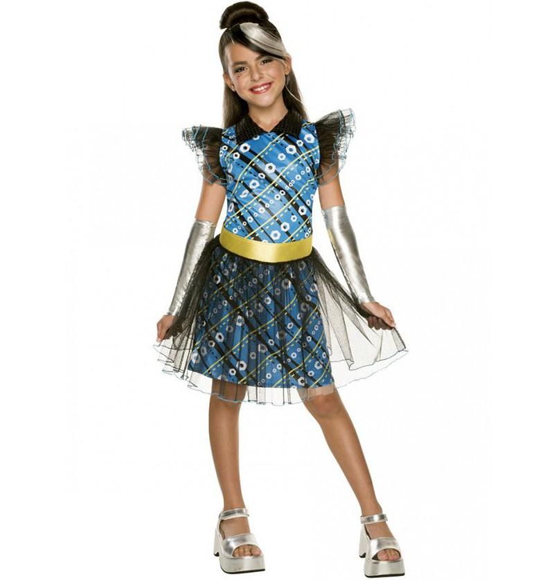 Disfraz de Frankie Stein deluxe para niña