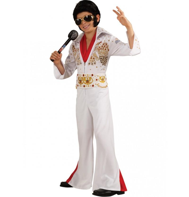 Disfraz de Elvis deluxe para niño