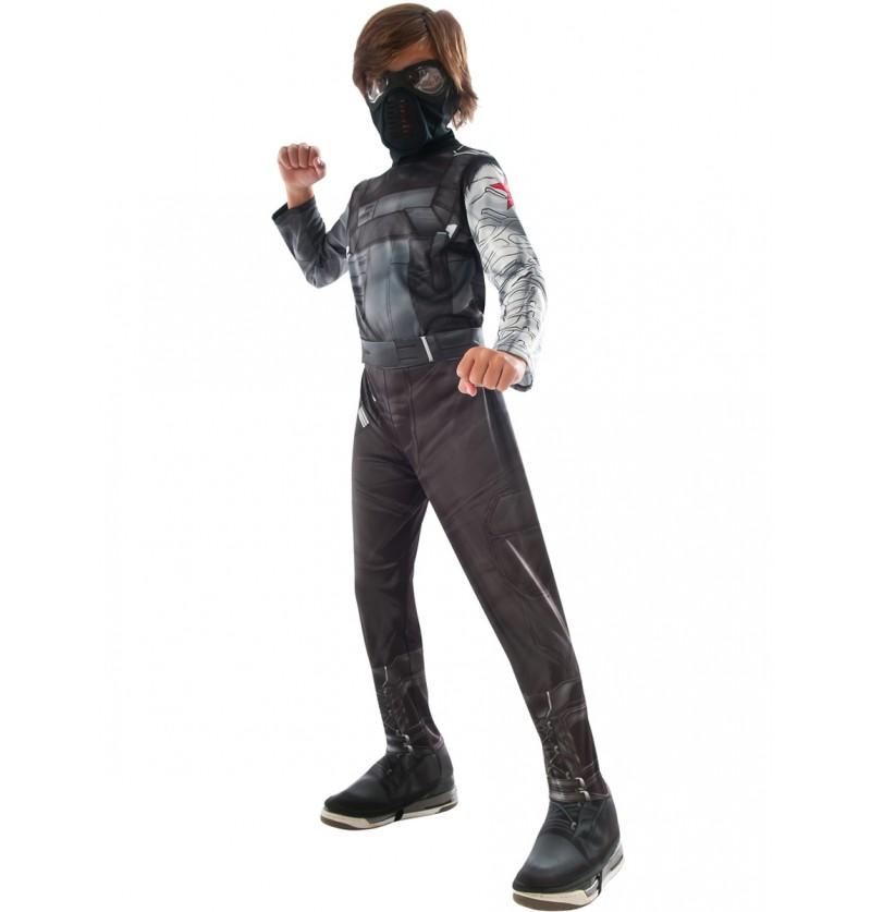 Disfraz de Soldado de Invierno Capitán América Civil War para niño