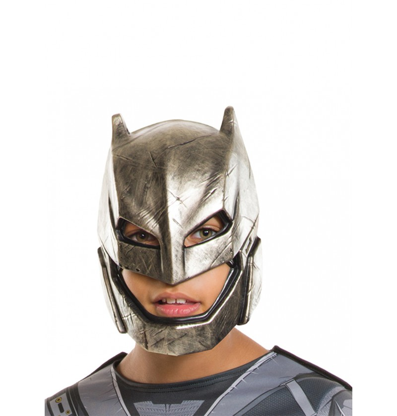 Máscara de Batman armadura Batman vs Superman para niño