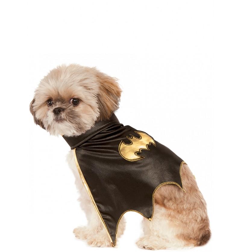 Capa de Batgirl para perro